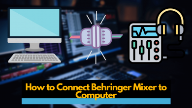 How to Connect Behringer Mixer to Computer