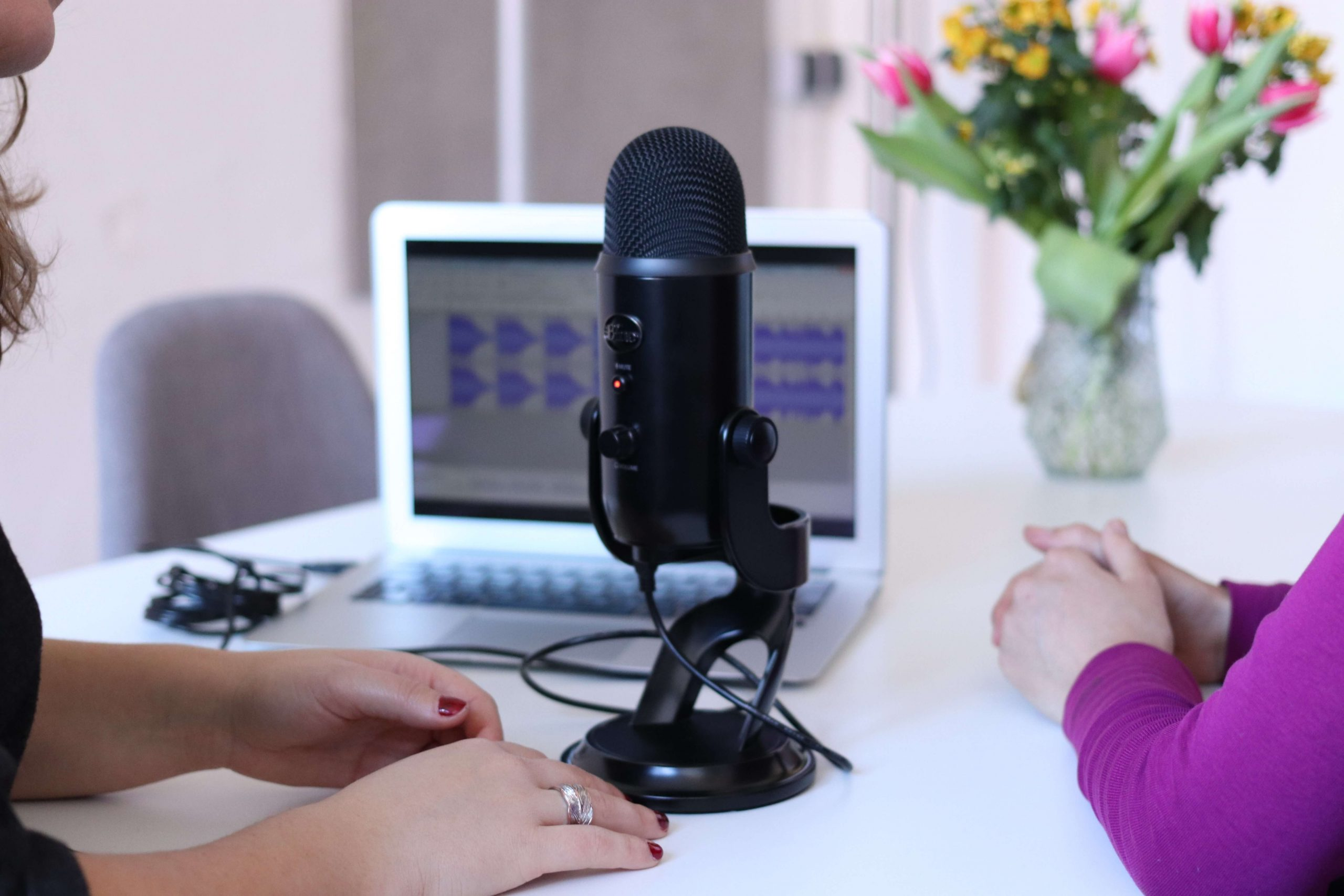 Distance from mic: How to Make Blue Yeti Sound Better
